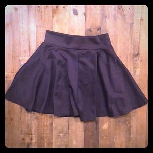 Dark Grey Skater Skirt a stretchy small/medium